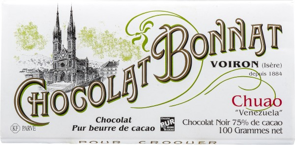 Bonnat Schokolade | Venezuela Chuao 75% | dunkle Schokolade