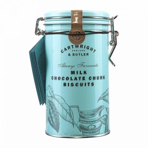 Cartwright & Butler | Milk Choc Chunk Biscuits | 200g