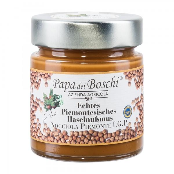 Papa dei Boschi | Haselnussmus | Pasta di Nocciola Piemonte