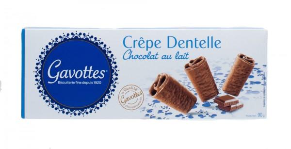 Gavottes | Crêpe Dentelle Chocolat au lait | mit Milchschokolade | 90g