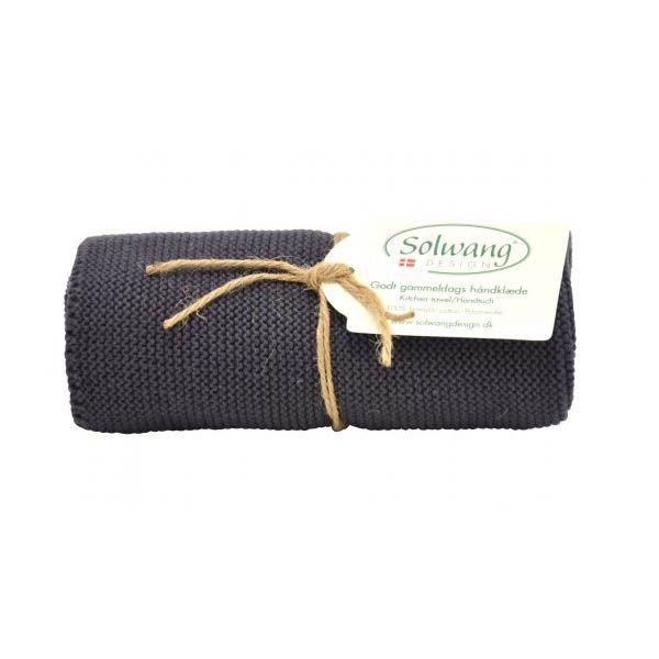 Solwang | Handtuch | Warm Dunkel Grau | H87