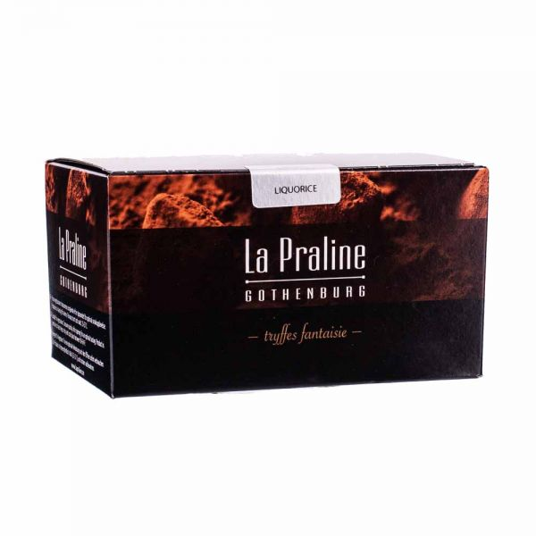 La Praline   Schokotrüffel mit Lakritz   200g