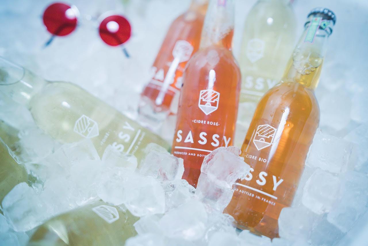 Sassy Cidre Flaschen