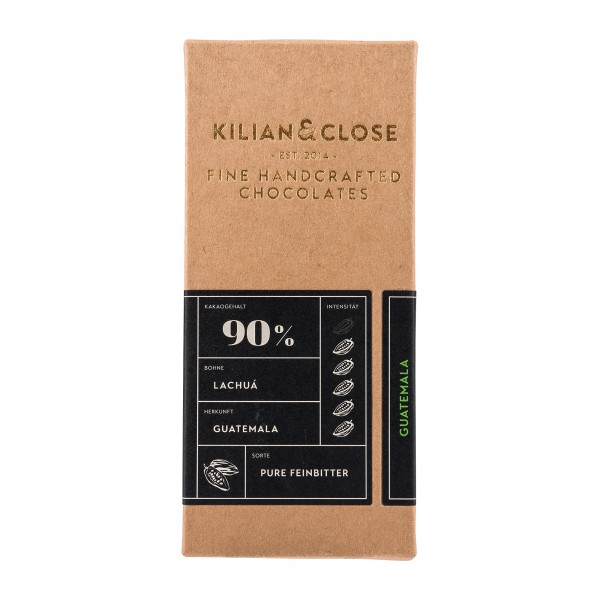 Kilian & Close 90% Schokolade Guatemala