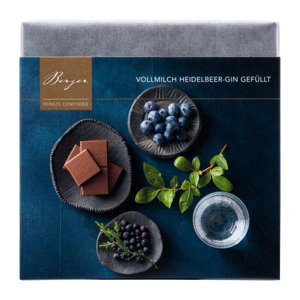 Berger Schokolade | Vollmilch Heidelbeer-Gin