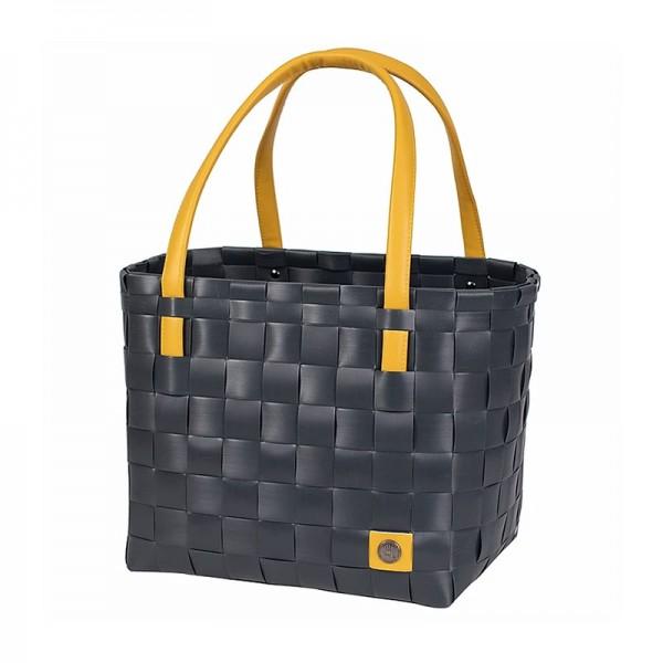 Color Block Shopper Dark Grey