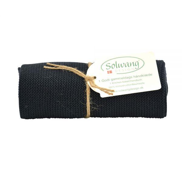 Solwang | Handtuch | Schwarz | H99