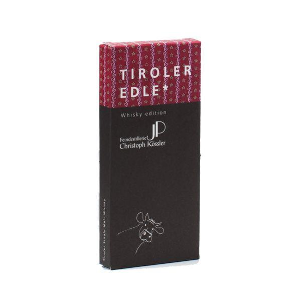Tiroler Edle | Schokolade mit Whisky