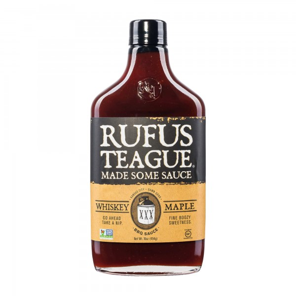 Rufus Teague | Whiskey Maple BBQ Sauce