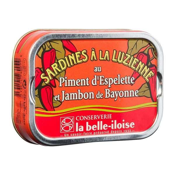 La belle-iIloise | Sardinen á la Luzienne | 115g