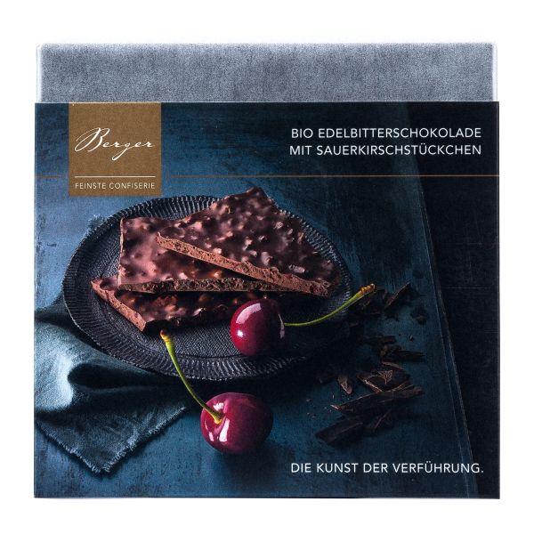 Berger Schokolade | Zartbitter Sauerkirschstückchen [BIO] [FAIR]
