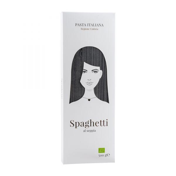 Good Hair Day Pasta | Spaghetti al seppia