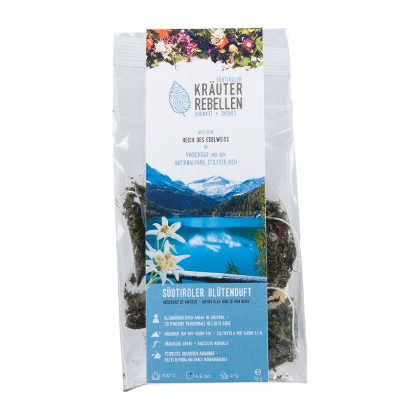 Kräuter Rebellen | Südtiroler Blütenduft | Tee Beutel