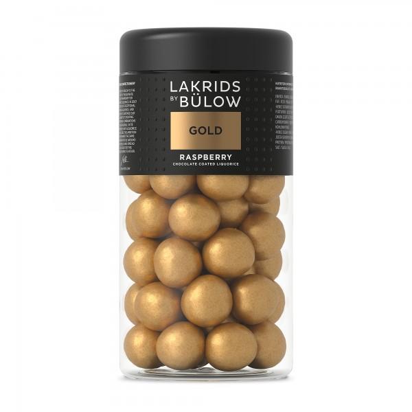 Lakrids by Bülow Gold Regular Winter weiße Schokolade mit Himbeeren