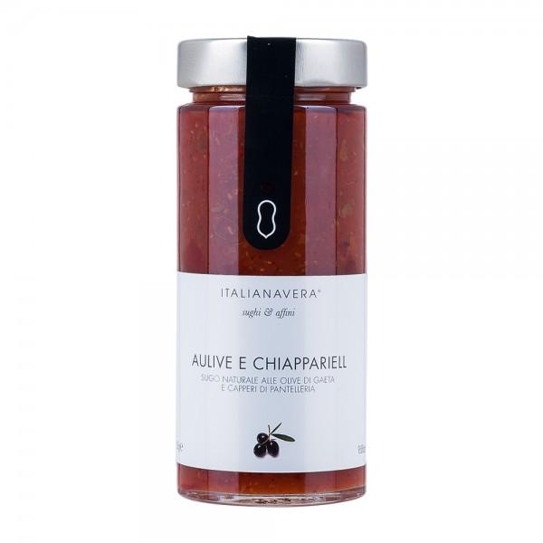 Italianavera   Tomaten Oliven Kapern Sauce