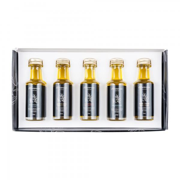 Monterosa   Olivenöl Geschenk Set   Tasting Kit