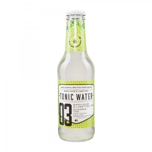 Bevi più naturale | Tonic Water Basilikum Limette