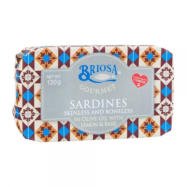 Briosa | Sardinen mit Zitrone | ohne Gräten