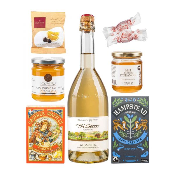Geschenkbox   Orange Deluxe   alkoholfrei