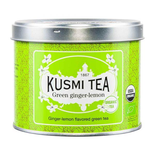 Kusmi Tea | Grüner Tee Ingwer Zitrone | 100g