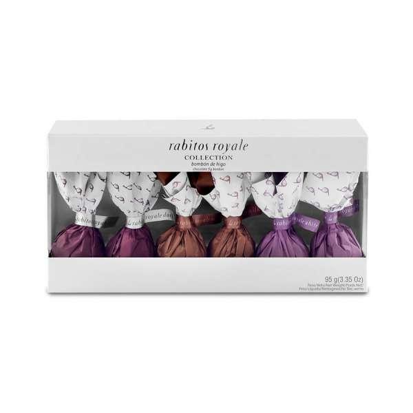 Rabitos Royale Collection | Feigen Pralinen | 6er Box