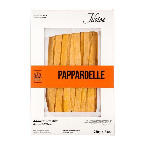 Pasta Filotea   Pappardelle   ital. Nudeln