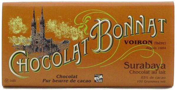 Bonnat Schokolade | Surabaya Lait 65% | Milchschokolade