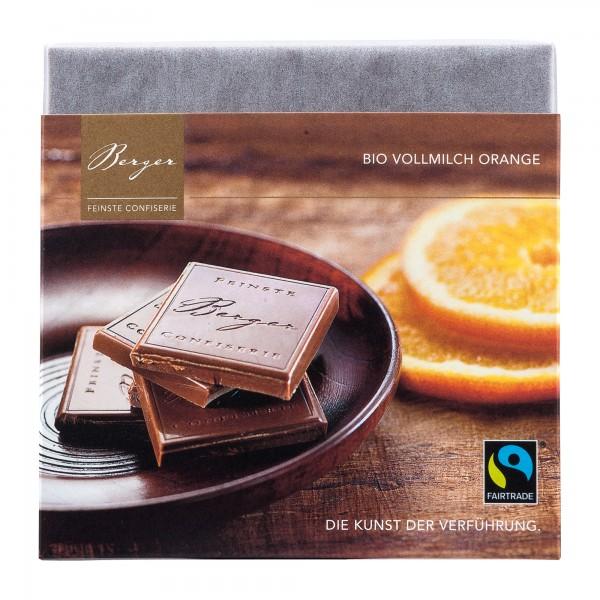 Berger Schokolade | Vollmilch Orange [BIO] [FAIR]