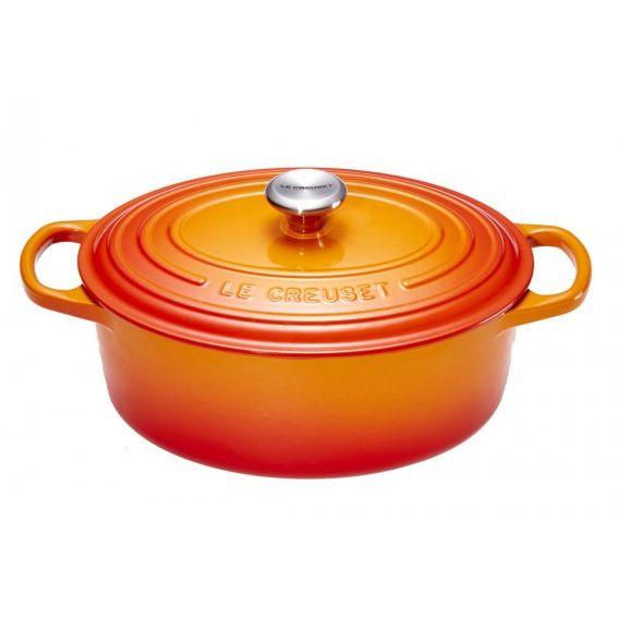 Le Creuset Bräter | Oval 31cm Ofenrot
