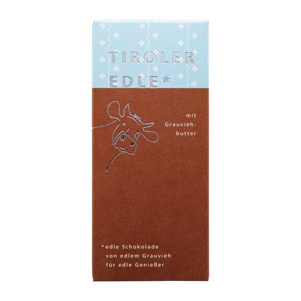 Tiroler Edle | Schokolade mit Grauviehbutter