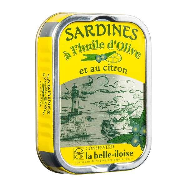 La belle iloise   Ölsardinen mit Zitrone   115g