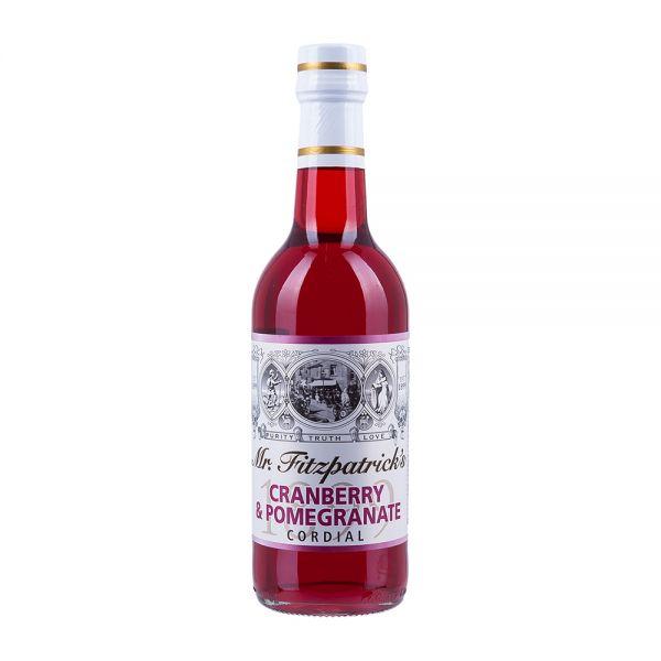Mr Fitzpatricks | Granatapfel Sirup mit Cranberry | alkoholfrei