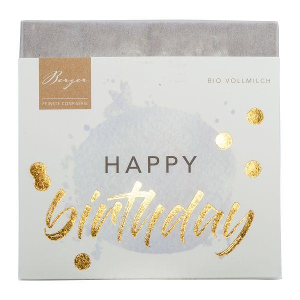 Berger Schokolade | Vollmilch Happy Birthday [BIO] [FAIR]