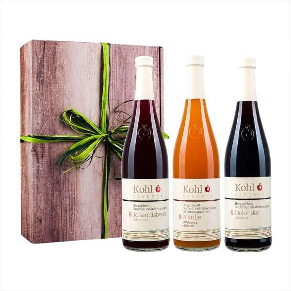 Kohl Essence | Apfelsaft 3er Geschenk