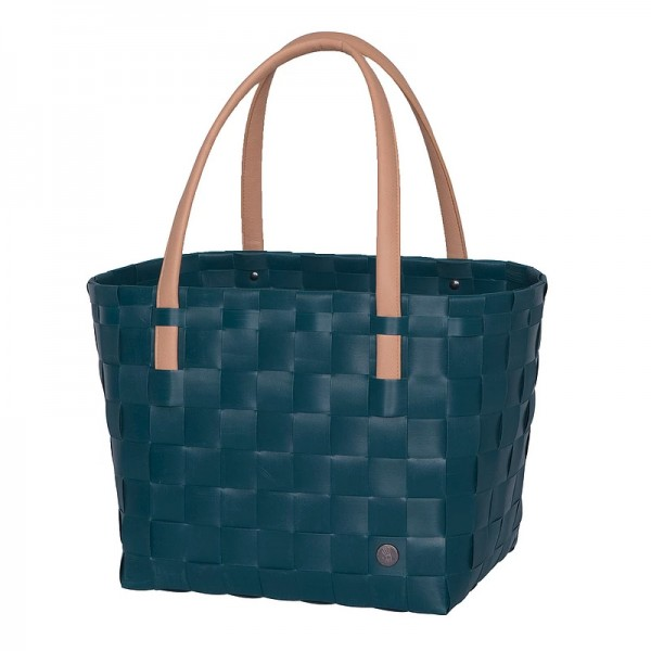 Handed By Color Block Shopper Midnight Blue