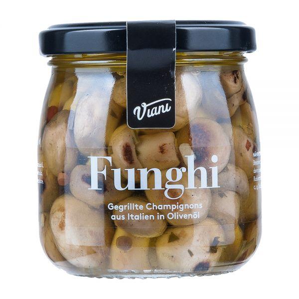 Viani   Funghi   Gegrillte Champignons