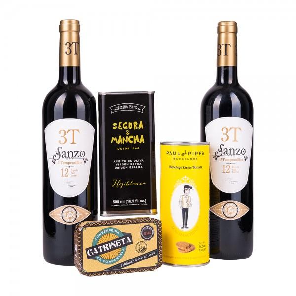 Feinkost Präsentkiste   Spanien Gourmet   Geschenk für Feinschmecker