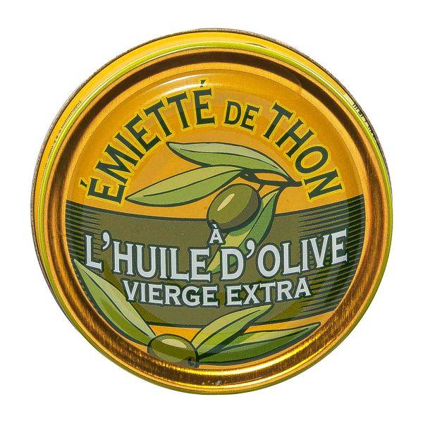 La belle iloise   Emietté de Thon Olivenöl