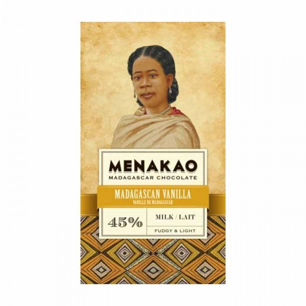 Menakao | Milchschokolade Madagascar Vanille