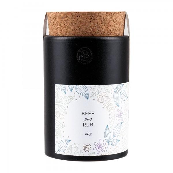 Pfeffersack und Soehne | Beef BBQ Rub Keramikdose | 60g