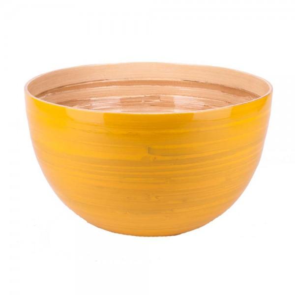 Albert L Schüssel Bambus 30x18 gelb