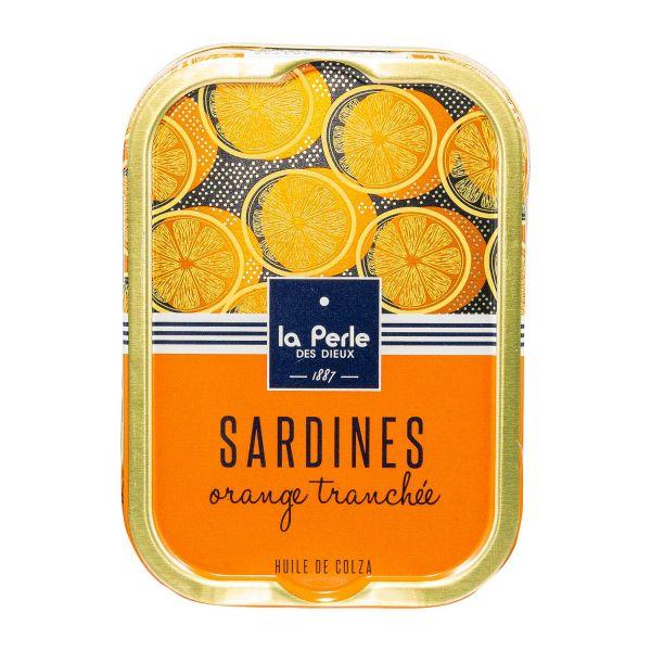 La Perle des Dieux | Ölsardinen mit Orange